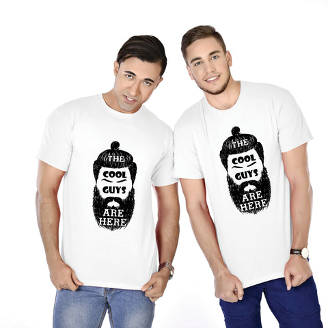 The Cool Guys Are Here Brothers Tees