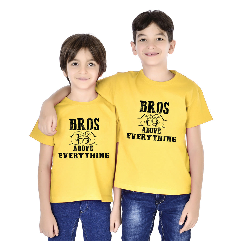 Bros Above Everything Tees