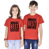 Worlds Best Brother/Sister Tees