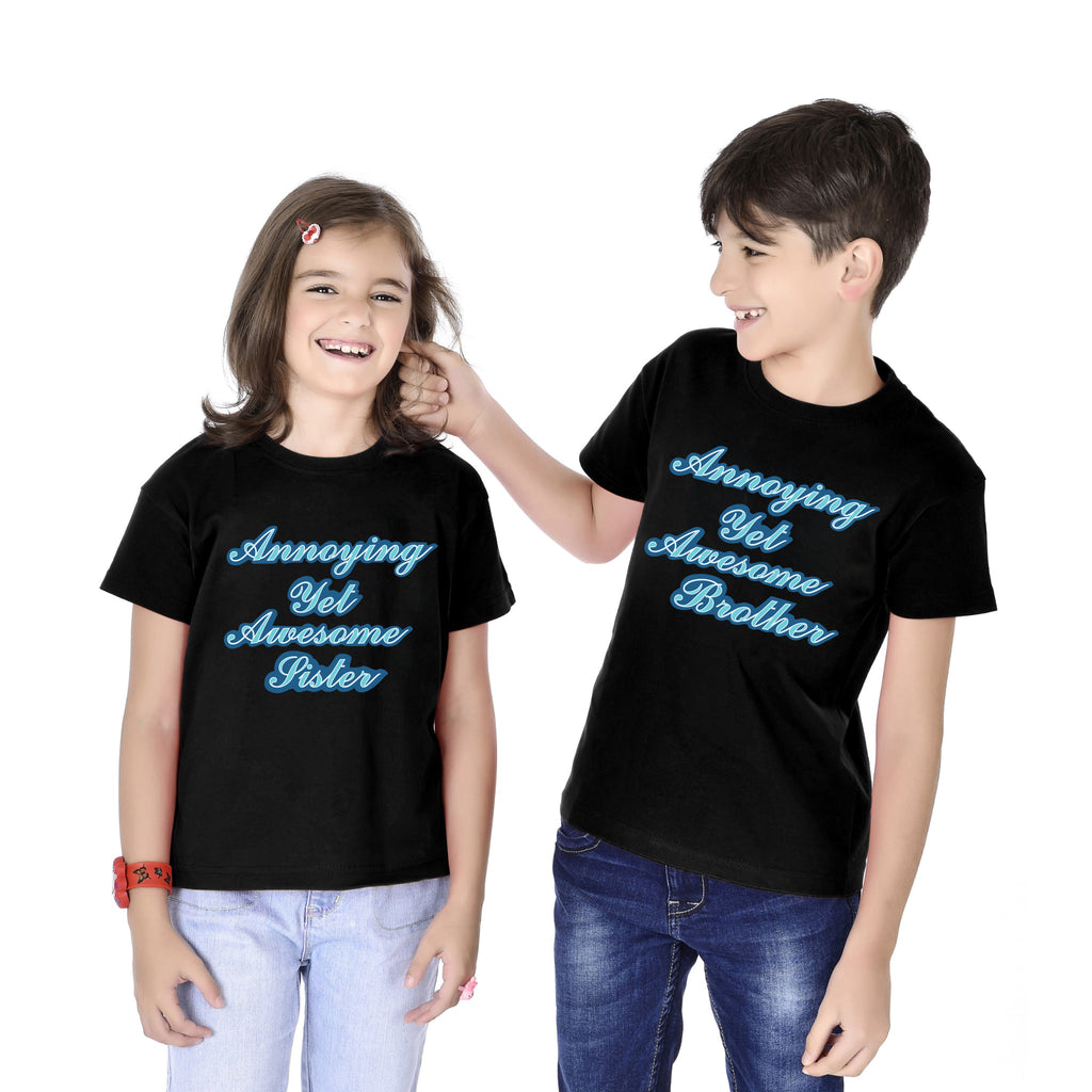 Annoying Yet Awesome Brother-Sister Tee