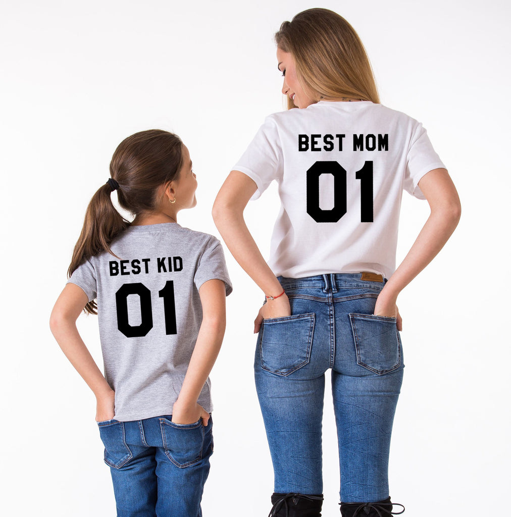 Best Mom/Best Kid Tees