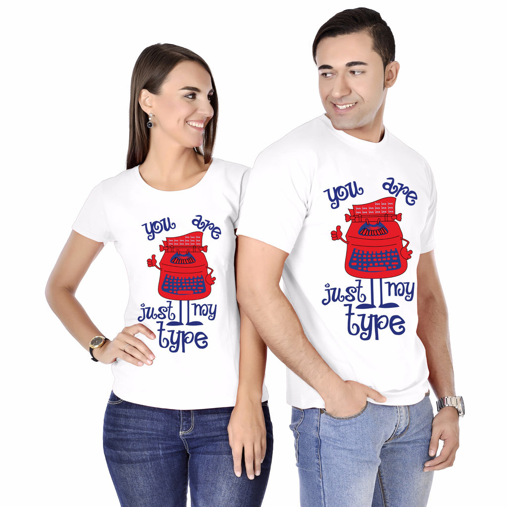 You Are My Type Couple Tees