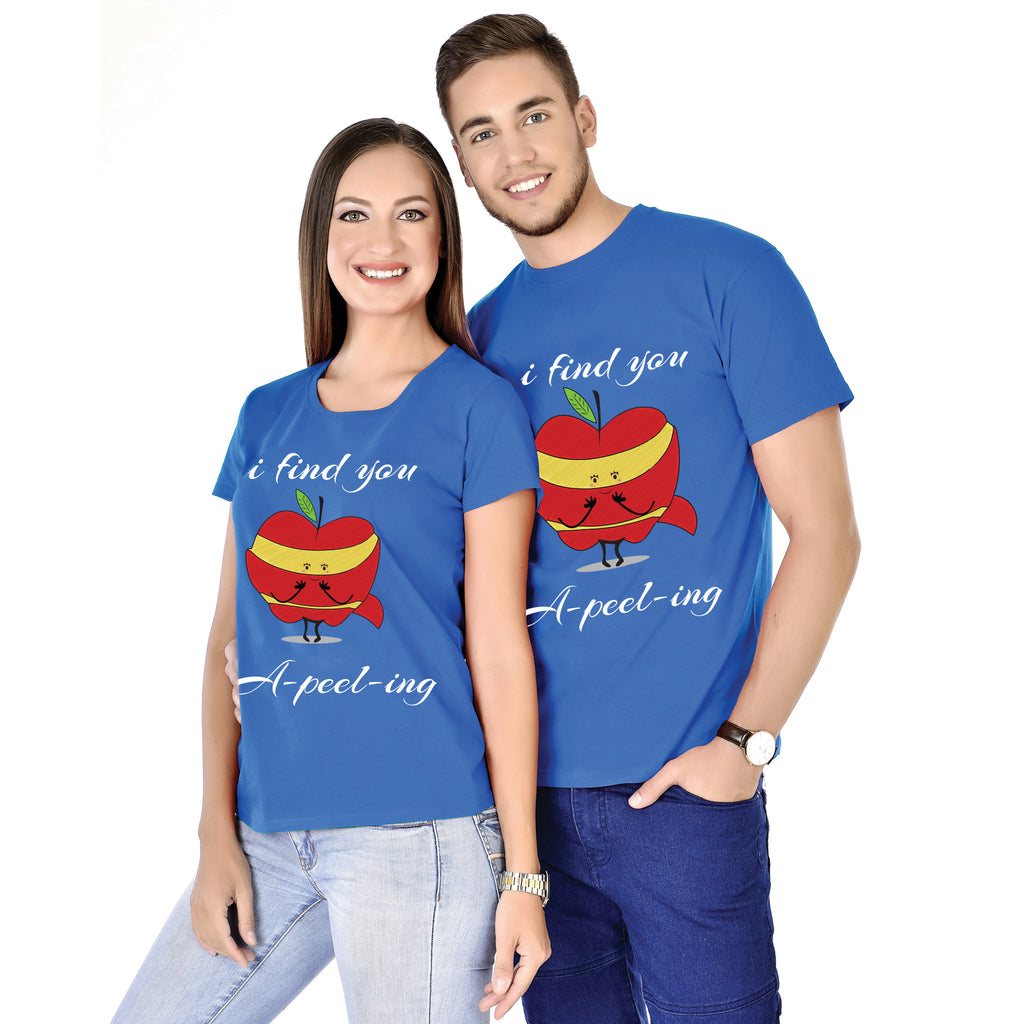 I Find You A-Peel-Ing Couple Tees
