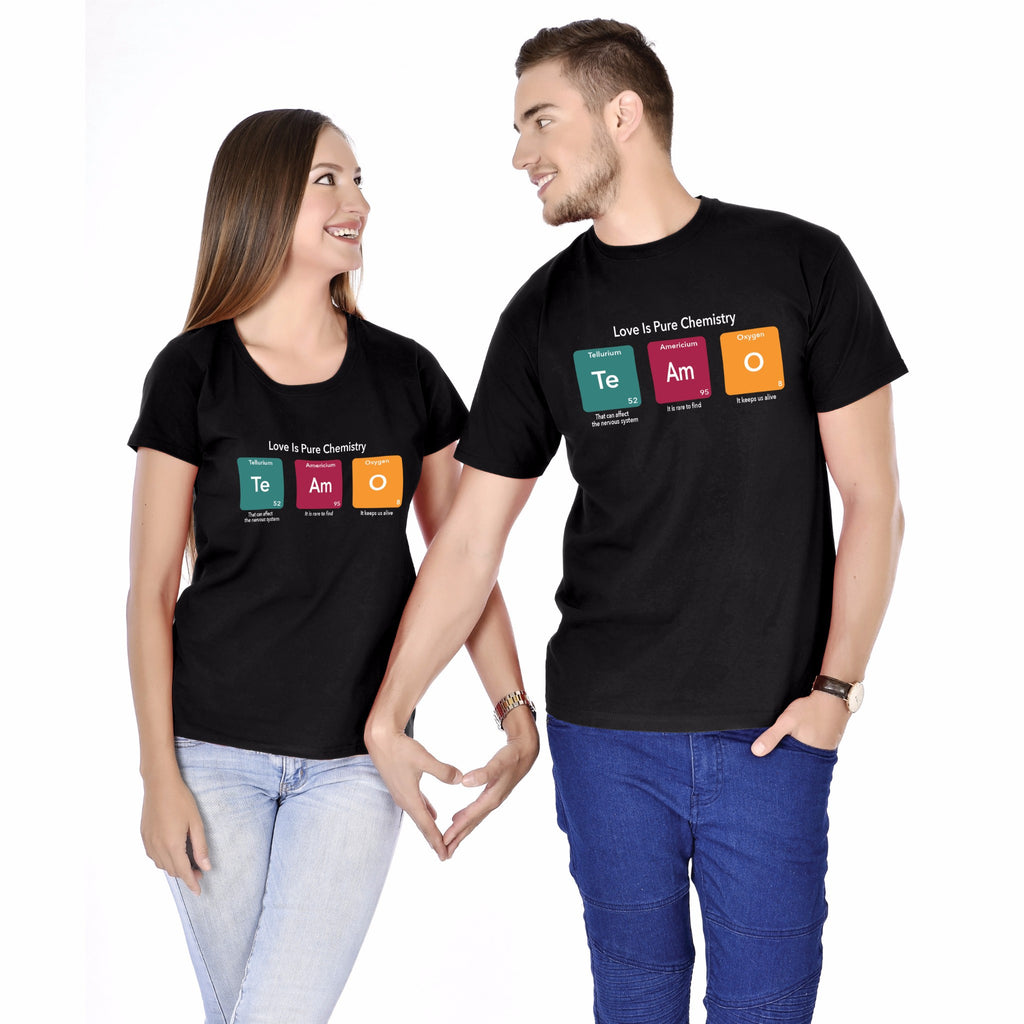 Te AM O Couple Tees