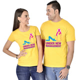 Under New Management Couple Tees