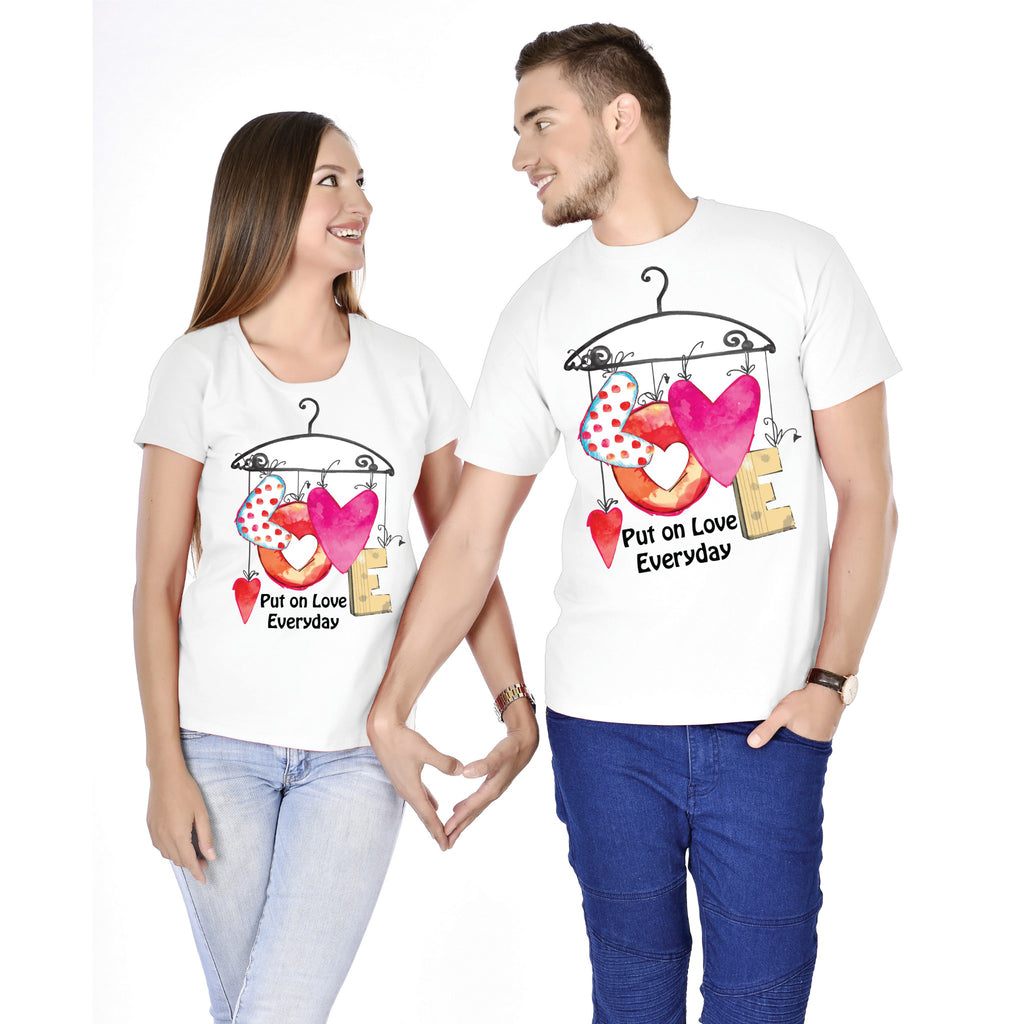 Put On Love Couple Tees