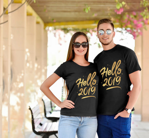 New Year Couple Tees