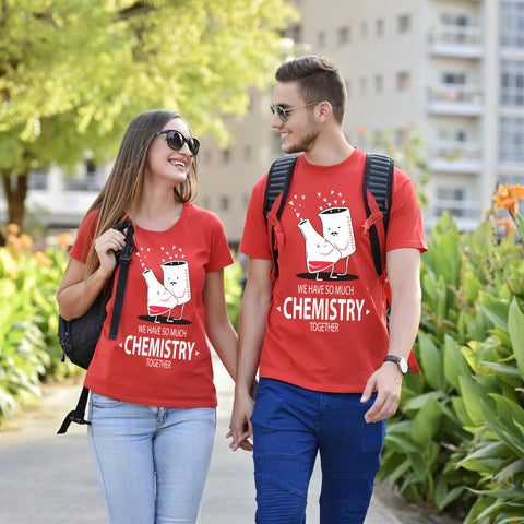 So Much Chemistry Together Couple Tees