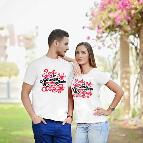 And In That Moment Couple Tees