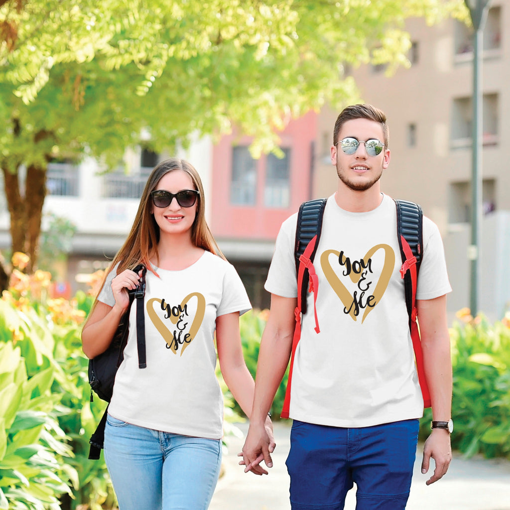 You And Me Couple Tees