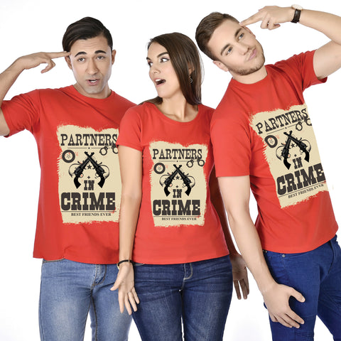 Partners In Crime Friends Tees