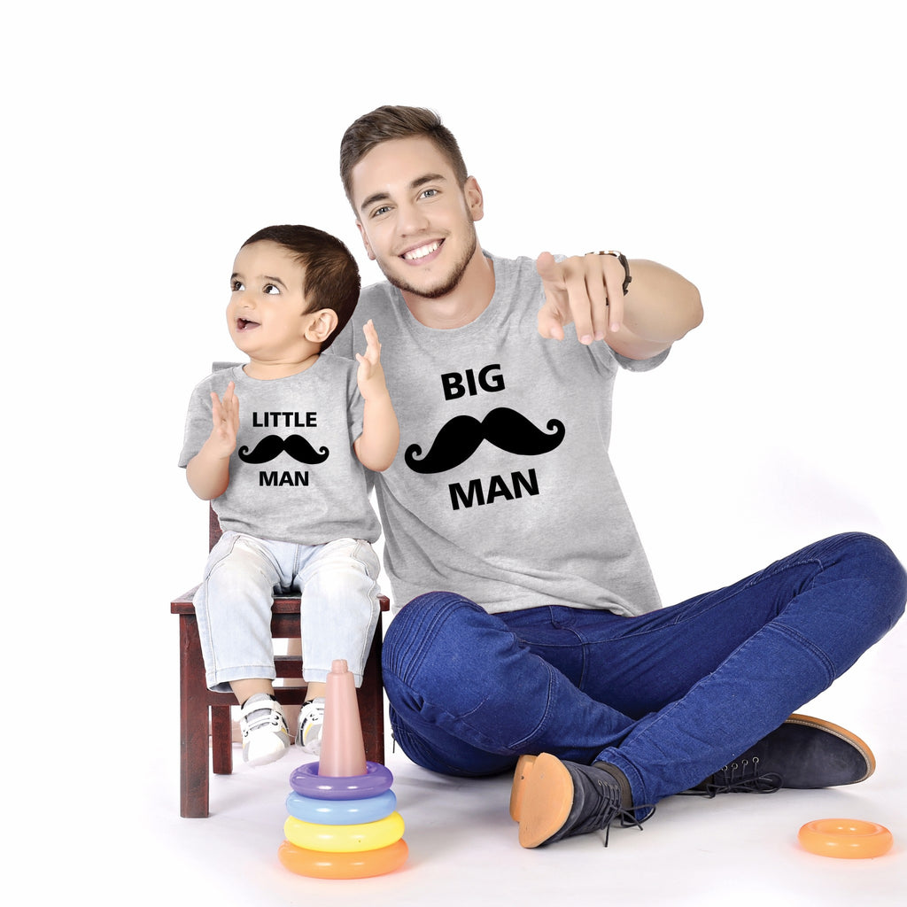 Big Man/Little Man Father And Baby Tees