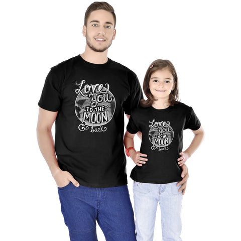 Love You To The Moon And Back Tees
