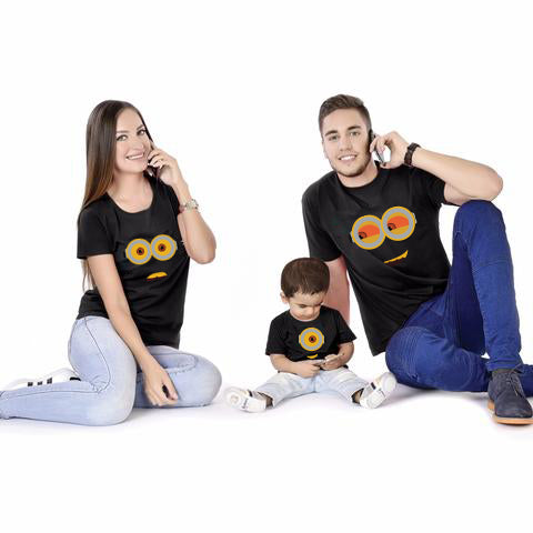 Minion Family With Baby Tees