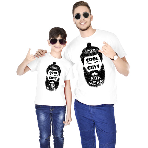 Cool Guys Are Here Father And Son Tees