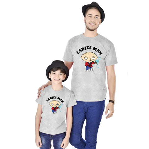 Ladies Man Father And Son Tees
