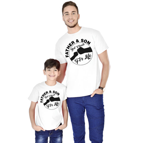 Father And Son Best Friends For Life Tees