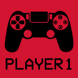 Player1/Player2 Father And Son Tees