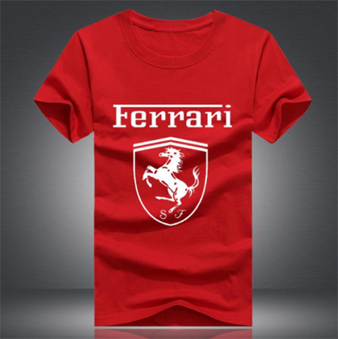 Red Ferrari Men's Tees