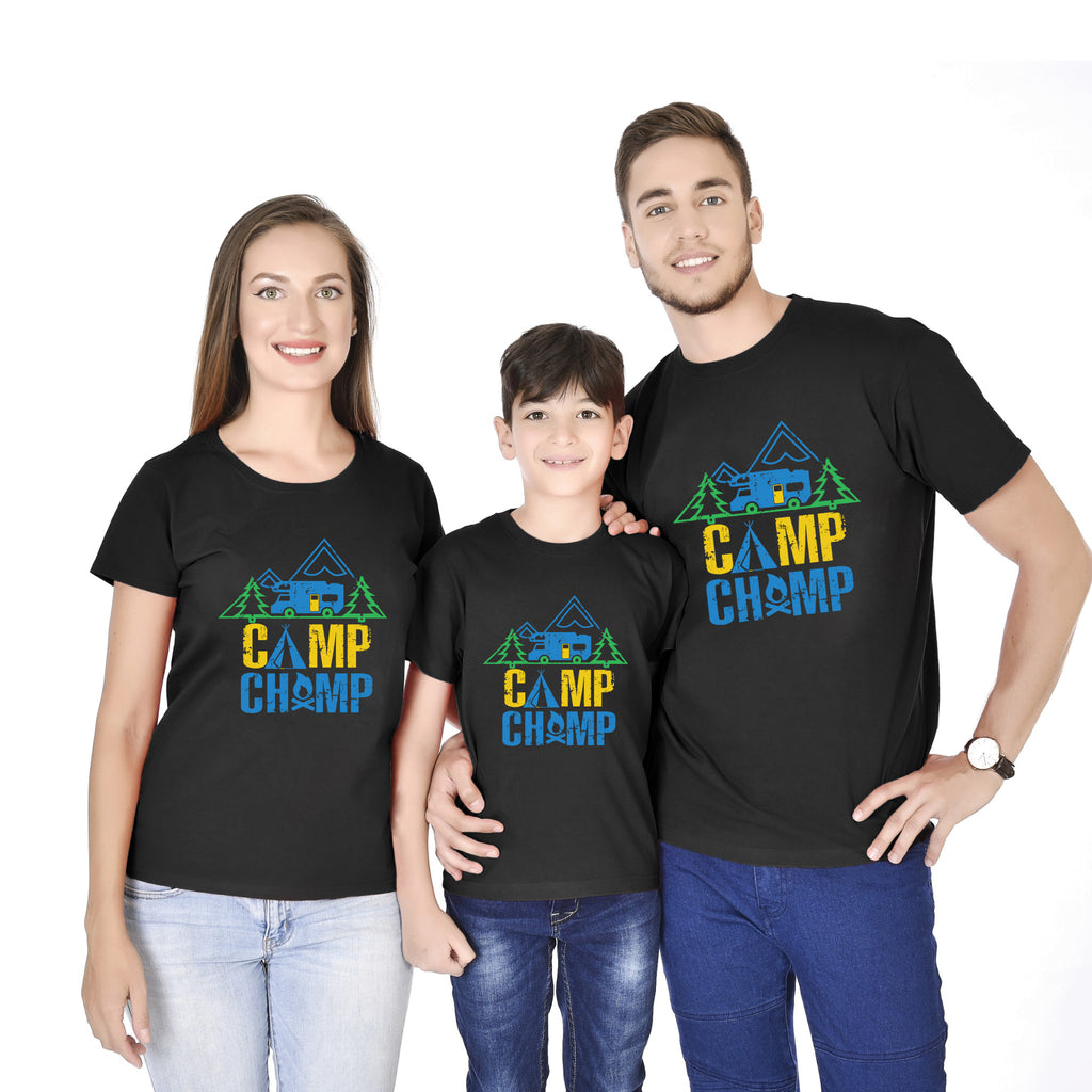 CAMP!!! Family Tees