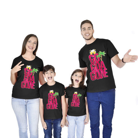 GO GOA GONE!!! Family Tees