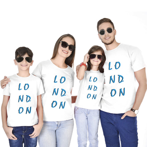 LONDON Family  Travel Tees