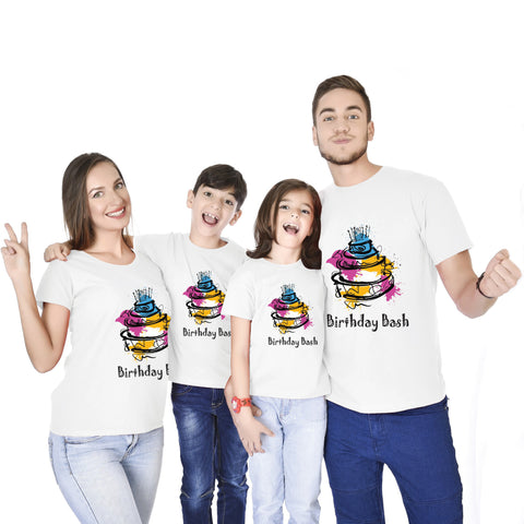 Birthday Bash Family Tees