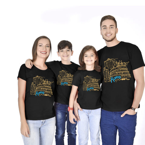 ROME Family Travel Tees