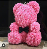 2020 Top Rated Gift Rose Teddy Bear With Crown (50% OFF TODAY)