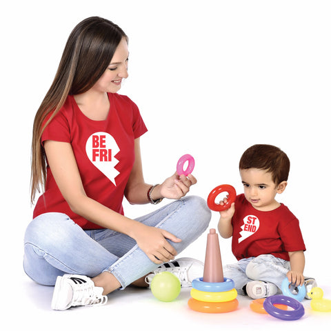 Best Friend Mother Baby Tees