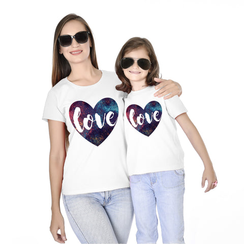 Love Mother Daughter Tees