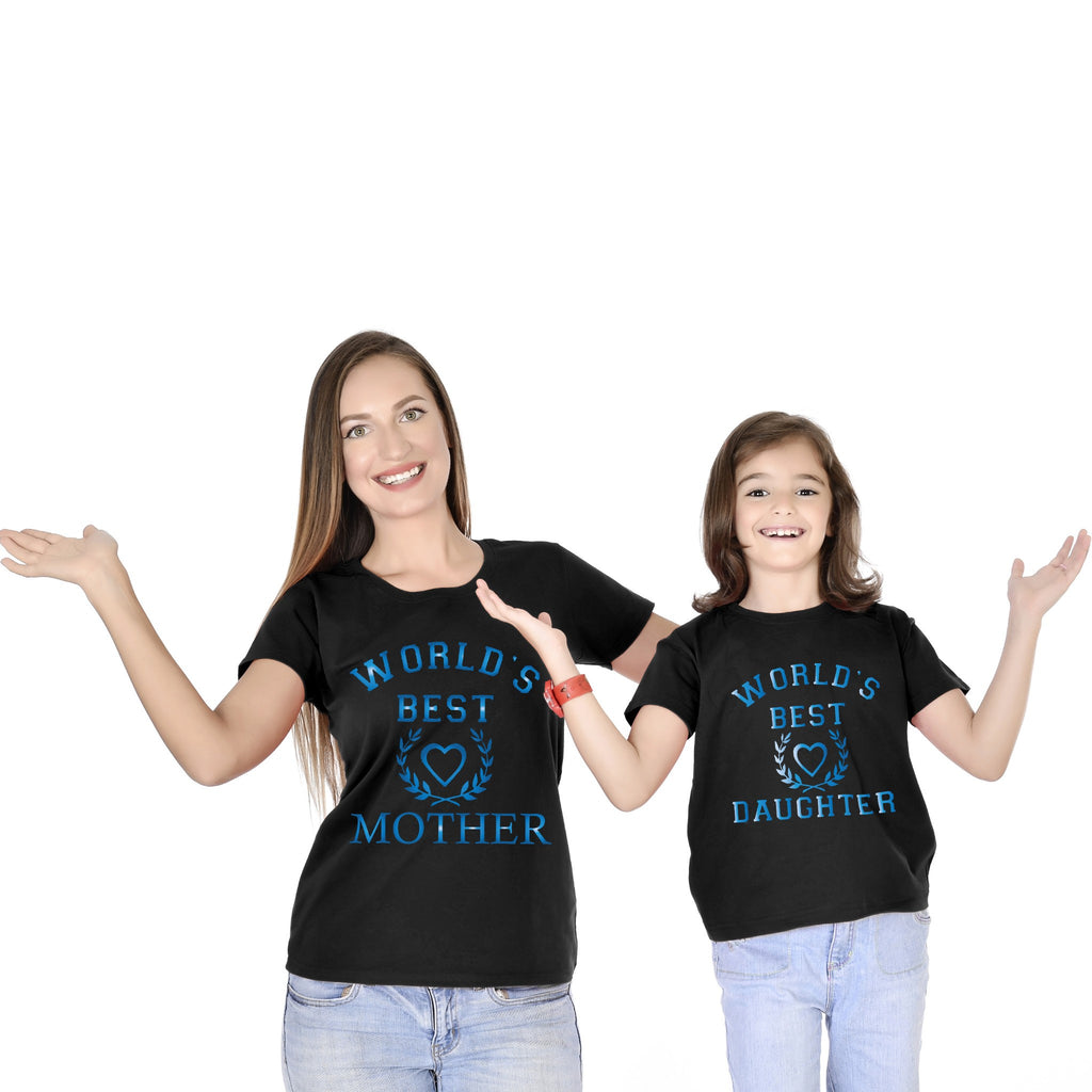 World's Best Mother Daughter Tees