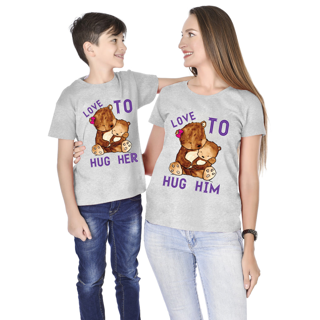 Mother-Son Love To Hug Tees