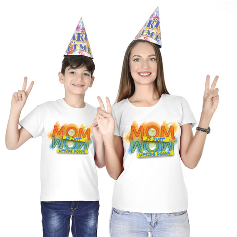 Mom Is Just Wow Tees