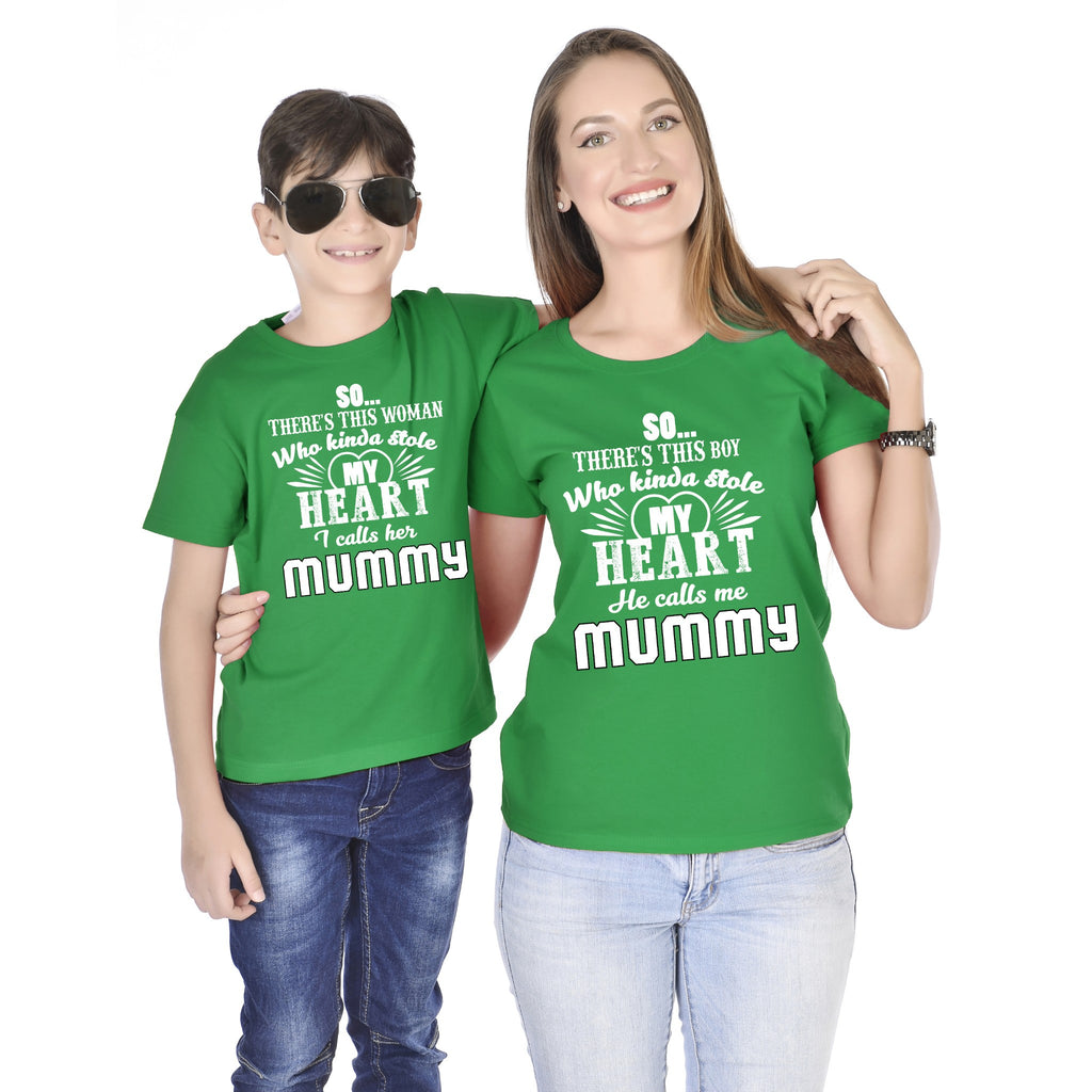 Stole My Heart Mom Son Tees