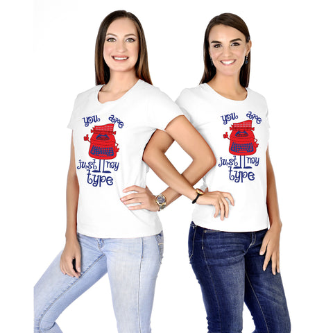 You Are Just My Type Sisters Tees