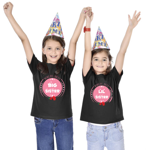 World's Best Little/Big Sister Tees