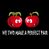 We Two Make A Perfect Pair Twin Tees