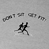 Don't Sit Get Fit! Women's Tees
