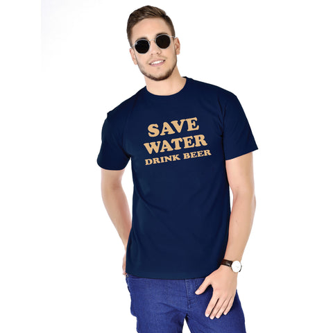 Save Water Drink Beer Tees for Men