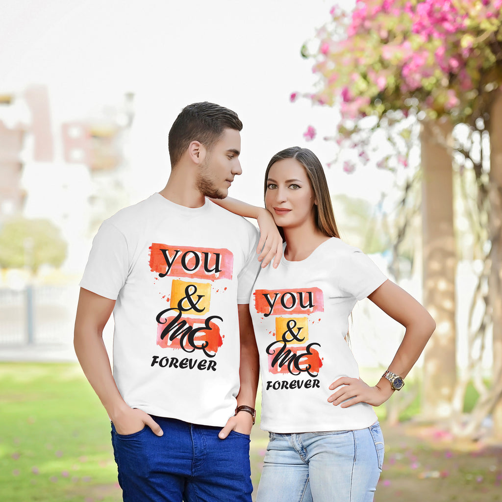You And Me Forever Couple Tees