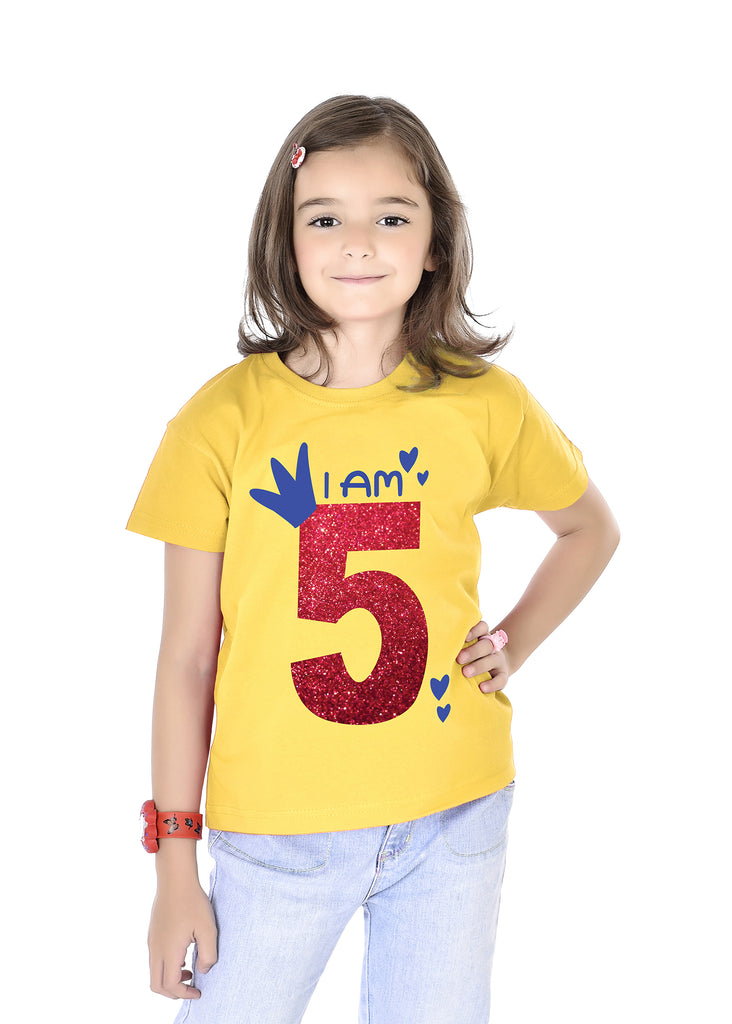 I'm 5 Birthday Kids Tees