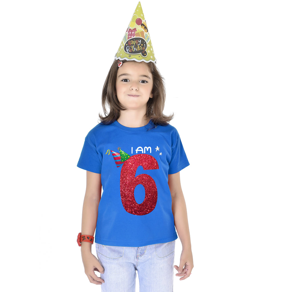 I'm 6 Birthday Kids Tees