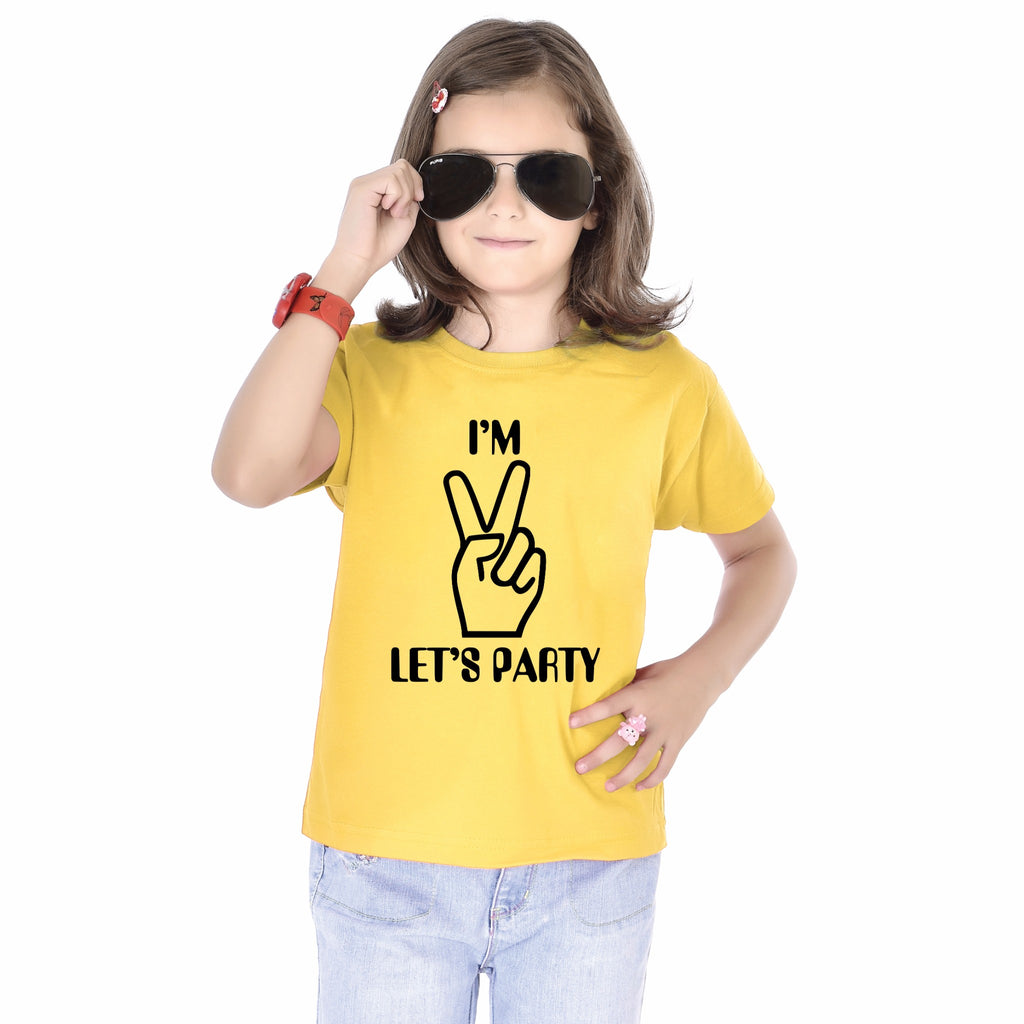 I'm 2 Let's Party Birthday Tees