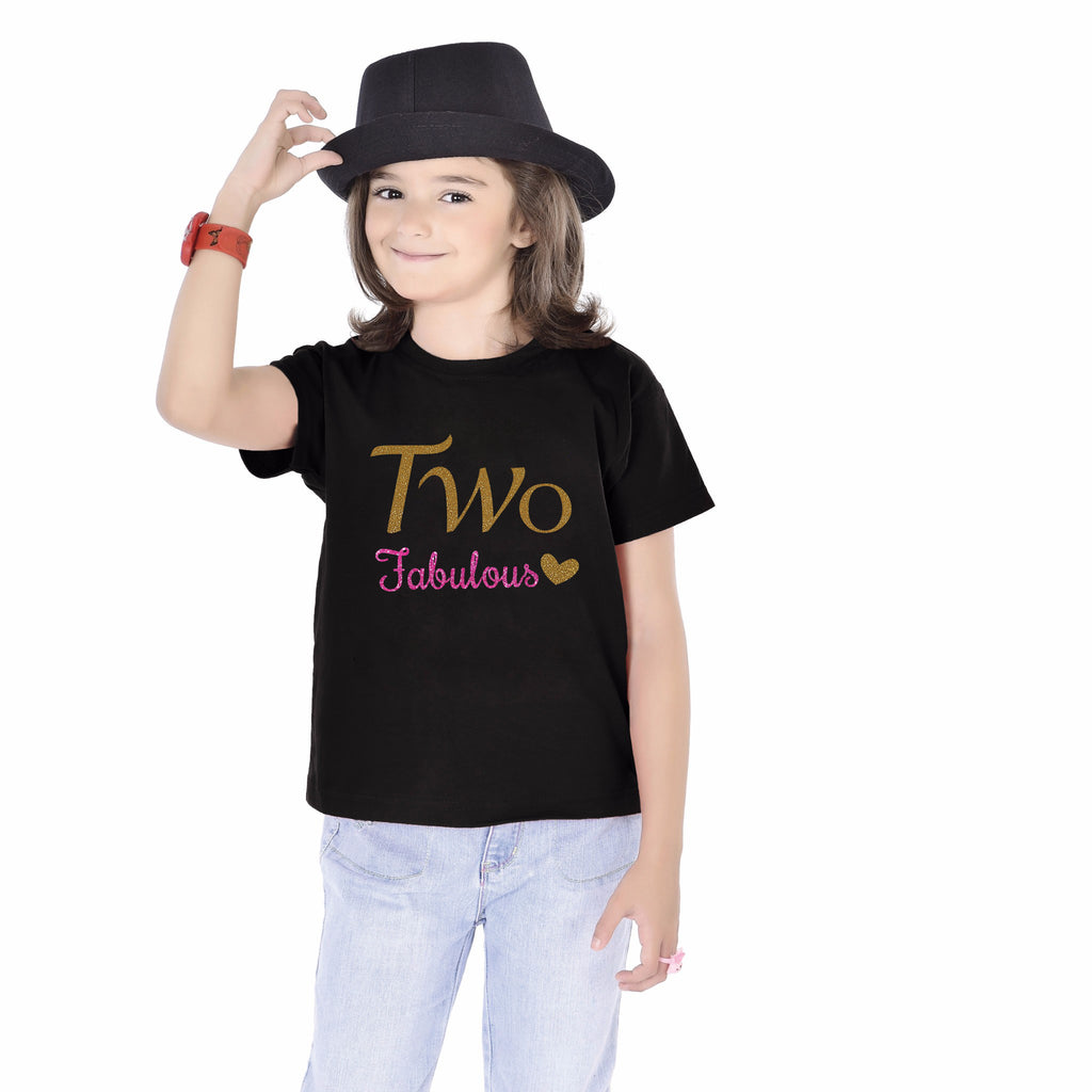 Two Fabulous 2nd Birthday Tees