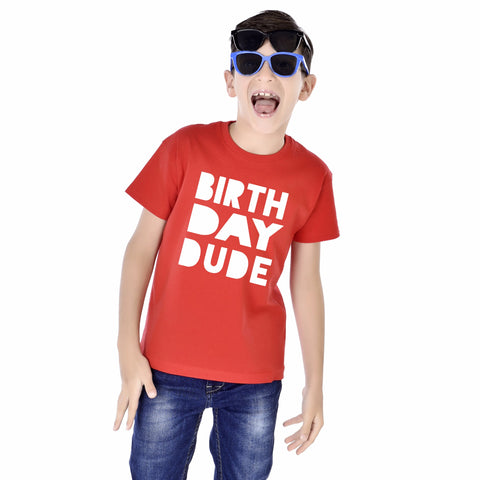 Birthday Dude Kids Tees