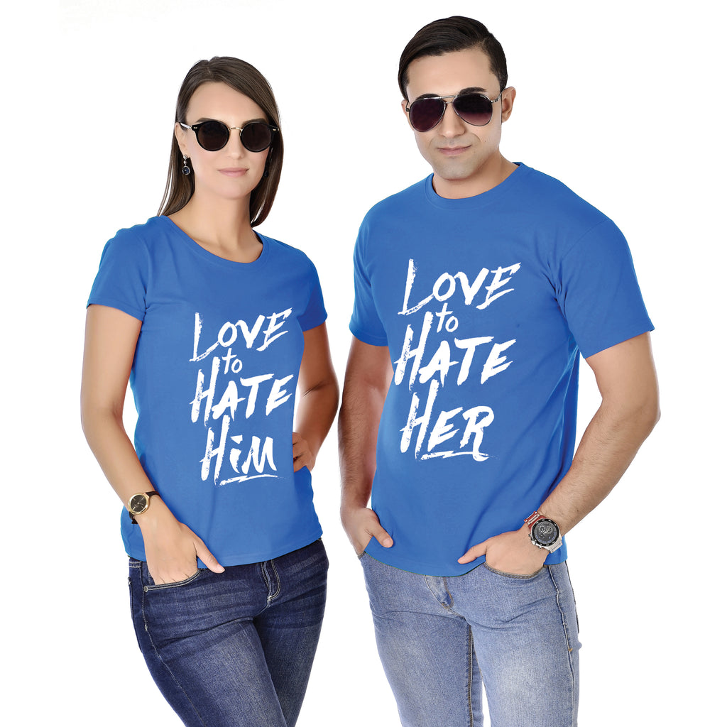 Love To Hate Him/Her Siblings Tee