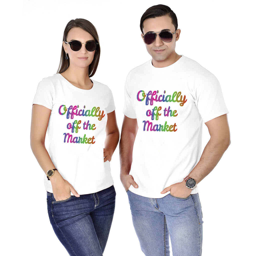 Officially Of The Market Couple Tees