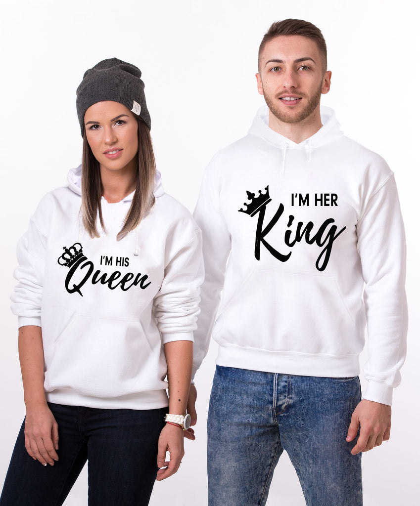 I am Her King/Queen Hoodies