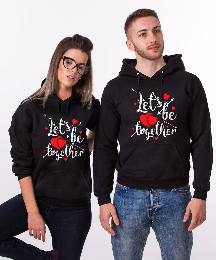 Lets Be Together Hoodies